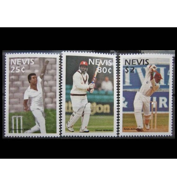 """Невис 1997 г. """"Игроки в крикет"""""""