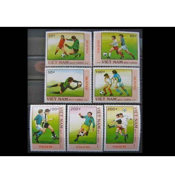 """Вьетнам 1989 г. """"Чемпионат мира по футболу 1990, Италия"""""""