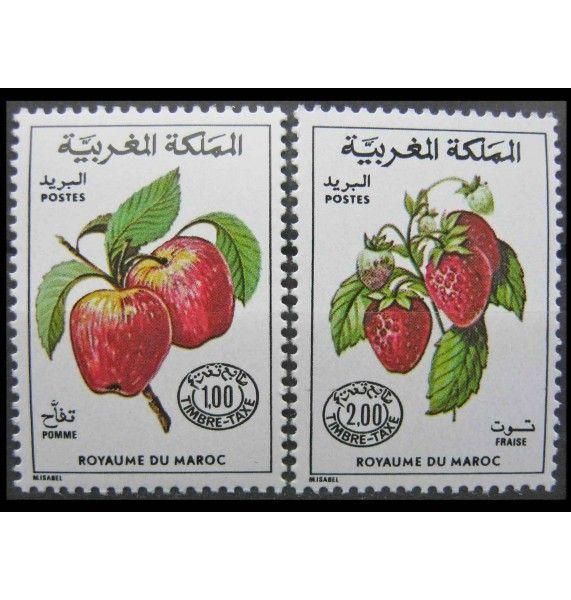 """Марокко 1986 г. """"Фрукты"""""""