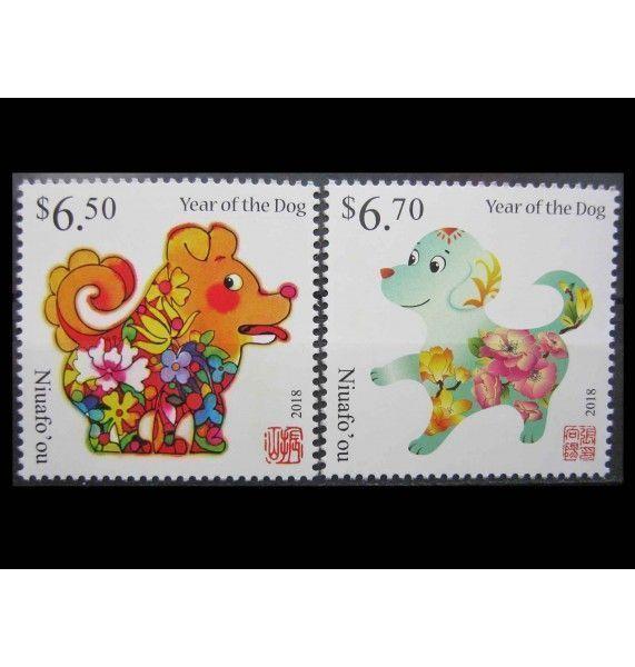 """Ниуафооу 2017 г. """"Китайский Новый год 2018 - Год собаки"""""""