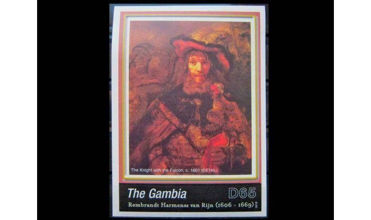 """Гамбия 2006 г. """"400-летие со дня рождения Рембрандта"""""""