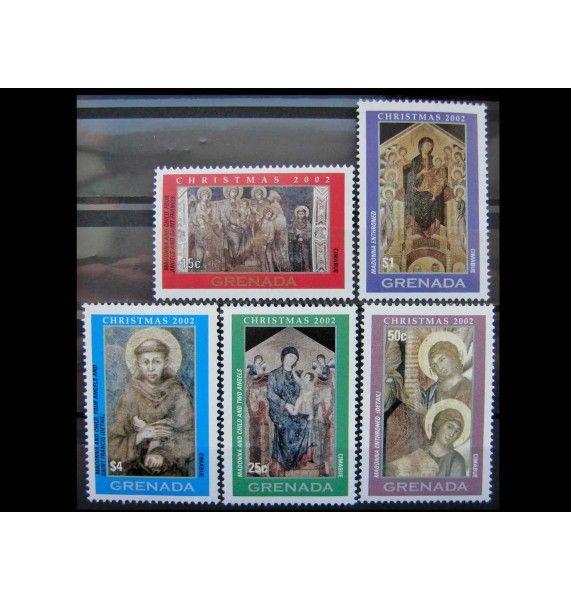 """Гренада 2002 г. """"Рождество: Картины итальянских художников"""""""