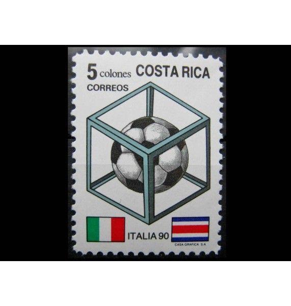 """Коста-Рика 1990 г. """"Чемпионат мира по футболу, Италия"""""""