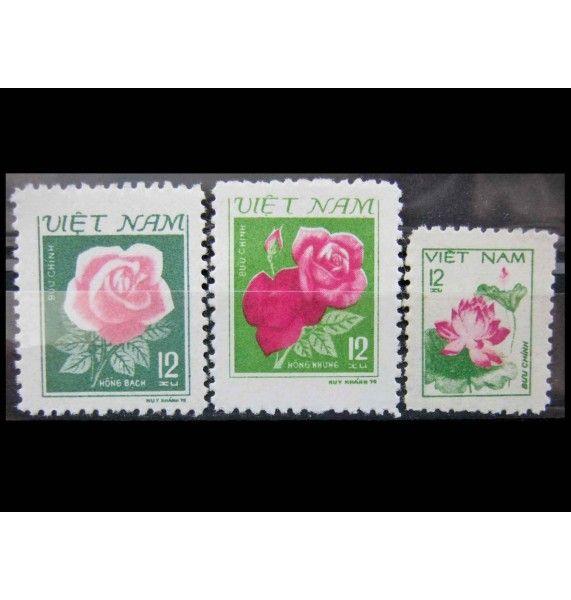 """Вьетнам 1980 г. """"Цветы"""""""