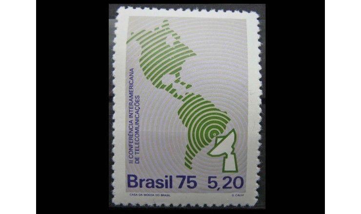 """Бразилия 1975 г. """"Международная конференция по телекоммуникациям"""""""