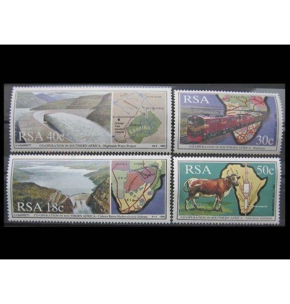 """ЮАР 1990 г. """"Сотрудничество на юге Африки"""""""