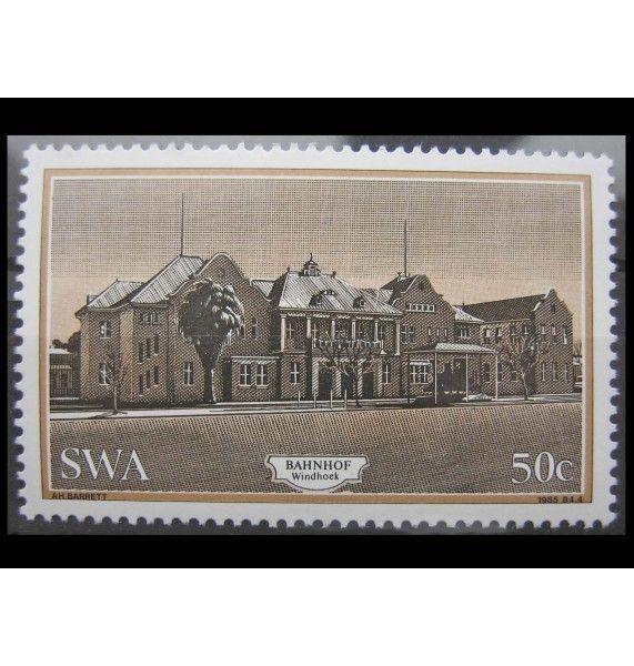 """Юго-Западная Африка 1985 г. """"Исторические здания"""""""