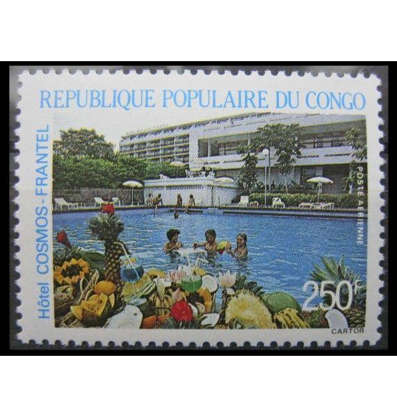 """Народная Республика Конго 1986 г. """"Отель"""""""