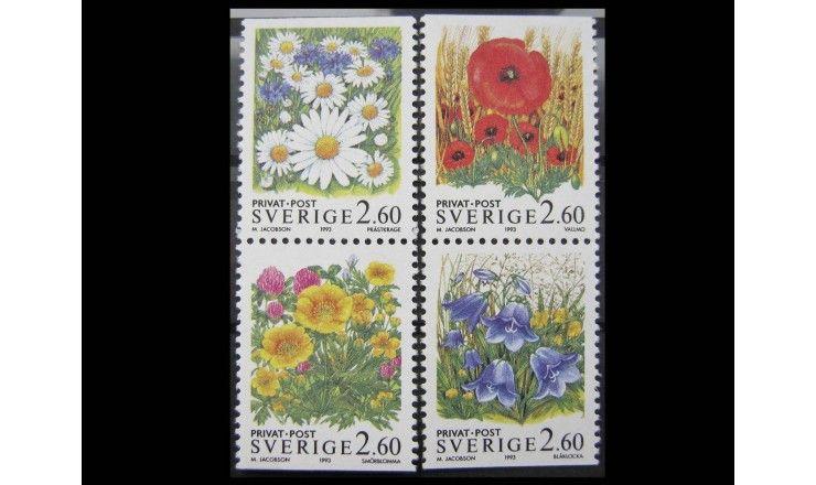"""Швеция 1993 г. """"Летние цветы"""""""