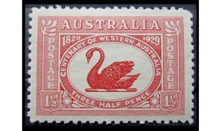 """Австралия 1929 г. """"100-летие колонизации Западной Австралии"""""""