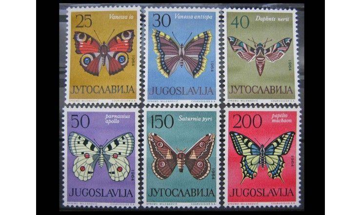 """Югославия 1964 г. """"Бабочки"""""""