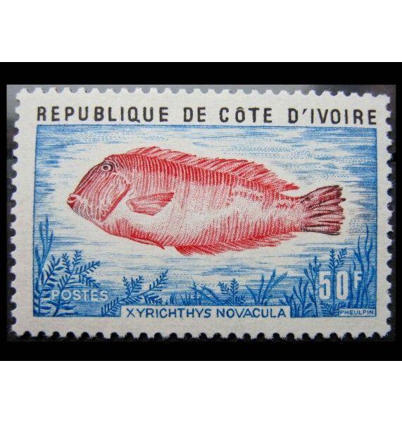 "Кот-д'Ивуар 1973 г. ""Рыбы"""
