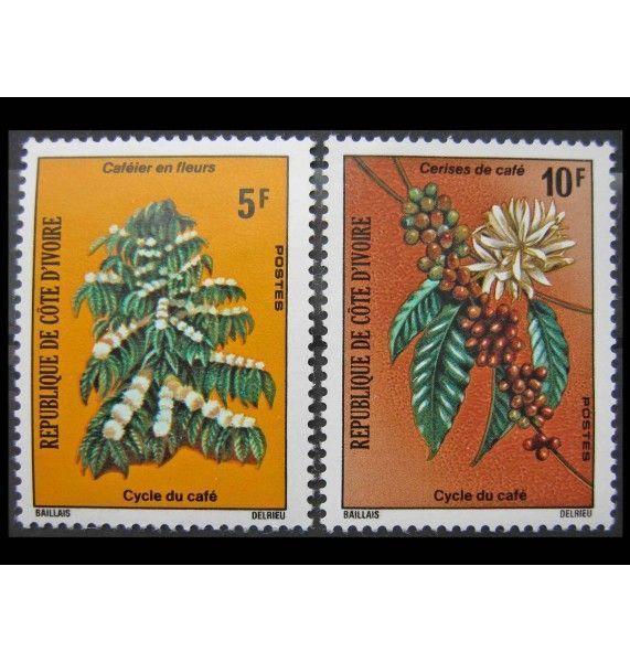 """Кот-д'Ивуар 1975 г. """"Кофейное дерево"""""""
