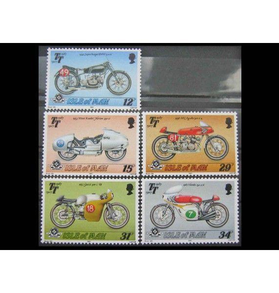"""Остров Мэн 1987 г. """"80 лет гонке на мотоциклах «Турист Трофи»"""""""