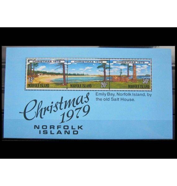 """Остров Норфолк 1979 г. """"Рождество"""""""