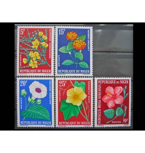 "Нигер 1964 г. ""Цветы"""