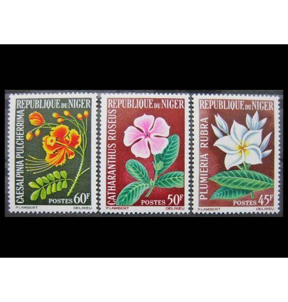 "Нигер 1965 г. ""Цветы"""