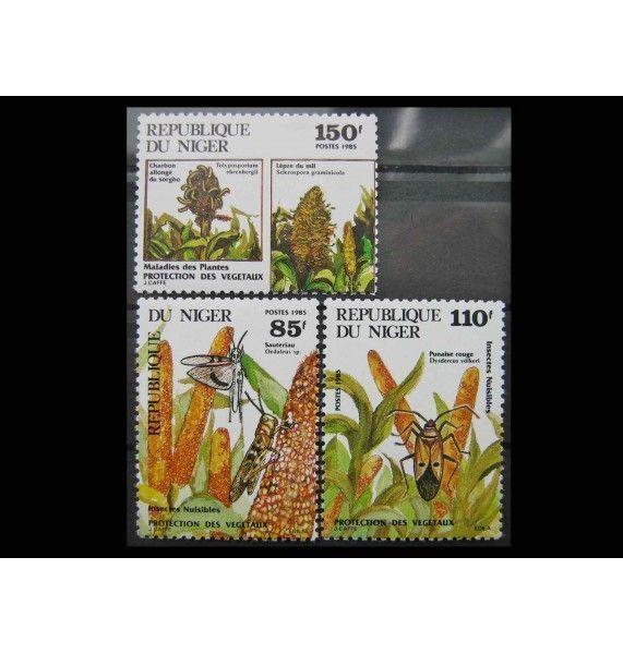 """Нигер 1985 г. """"Вредители растений"""""""