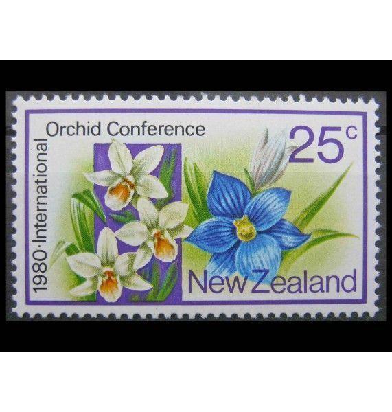 """Новая Зеландия 1980 г. """"Международная конференция по орхидеям"""""""
