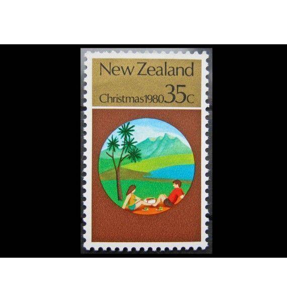 """Новая Зеландия 1980 г. """"Рождество"""""""