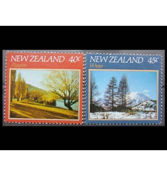 """Новая Зеландия 1982 г. """"Пейзажи"""""""