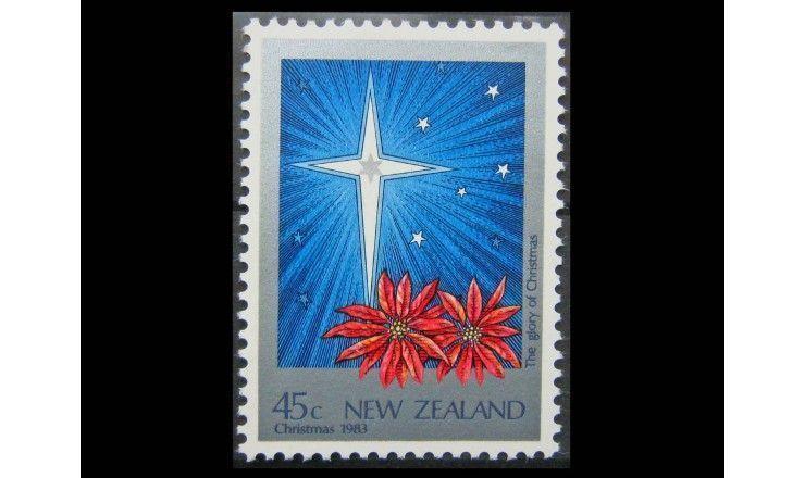 """Новая Зеландия 1983 г. """"Рождество"""""""