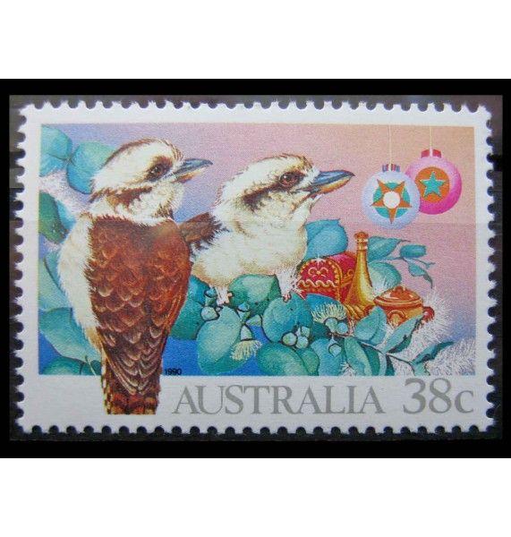 """Австралия 1990 г. """"Рождество"""""""