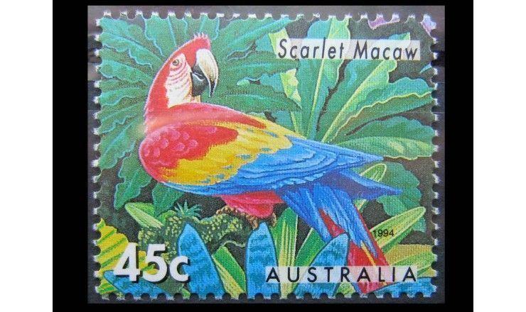 """Австралия 1994 г. """"Вымирающие животные"""""""