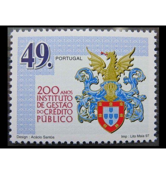 """Португалия 1997 г. """"200 лет государственному кредитному учреждению"""""""