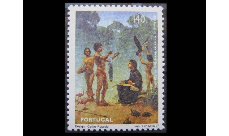 """Португалия 1997 г. """"400-летие смерти Жозе ди Аншиета"""""""