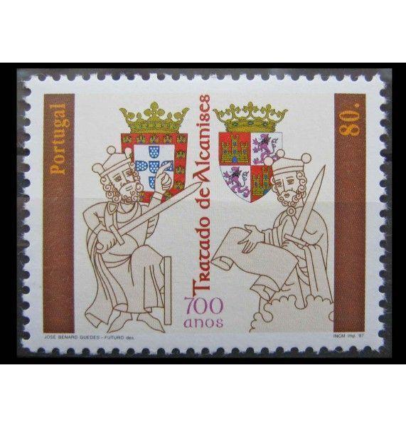 """Португалия 1997 г. """"700 лет подписания договора о поставках"""""""