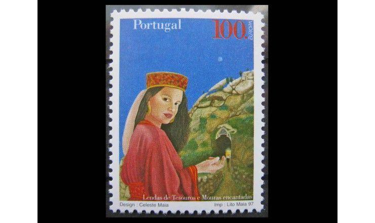 "Португалия 1997 г. ""Европа: Саги и легенды"""