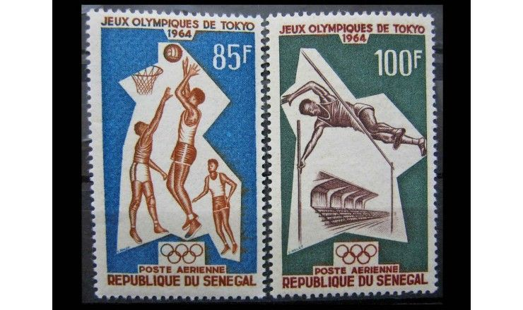"""Сенегал 1964 г. """"Летние Олимпийские игры, Токио"""""""