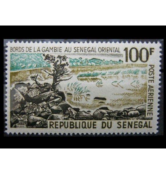 """Сенегал 1965 г. """"Ландшафты"""""""