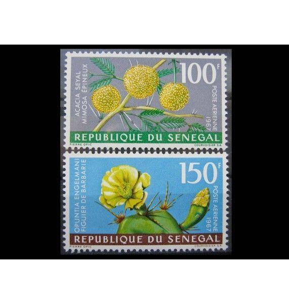 """Сенегал 1967 г. """"Растения"""""""
