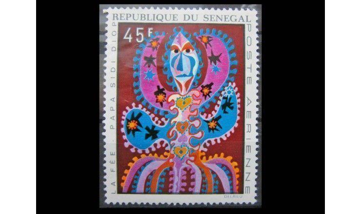 """Сенегал 1970 г. """"Гобелены"""""""