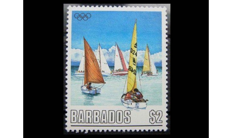 """Барбадос 1988 г. """"Летние Олимпийские игры, Сеул"""""""