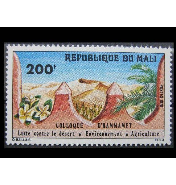 """Мали 1978 г. """"Кампания по борьбе с опустыниванием земель"""""""