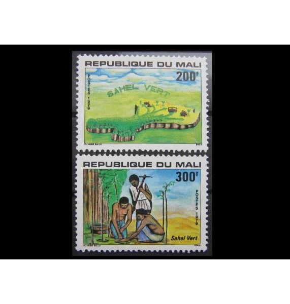 """Мали 1979 г. """"Рекультивация Сахеля"""""""