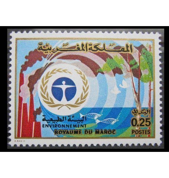 """Марокко 1974 г. """"Охрана окружающей среды"""""""