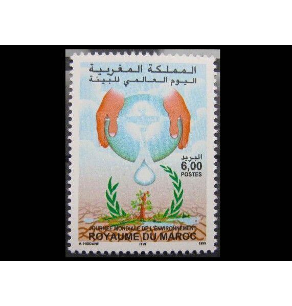 """Марокко 1999 г. """"Международный день окружающей среды"""""""