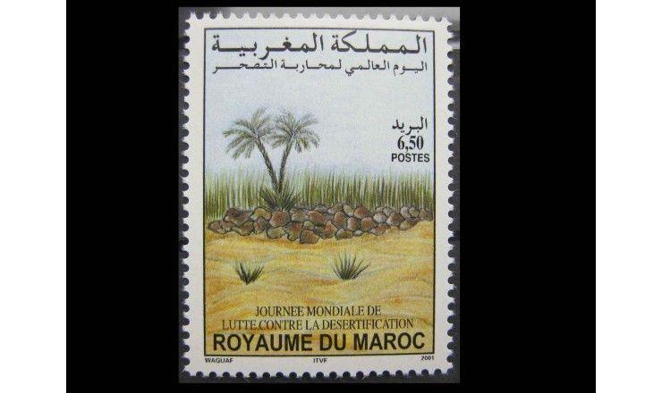 """Марокко 2001 г. """"Международный день борьбы с опустыниванием земель"""""""