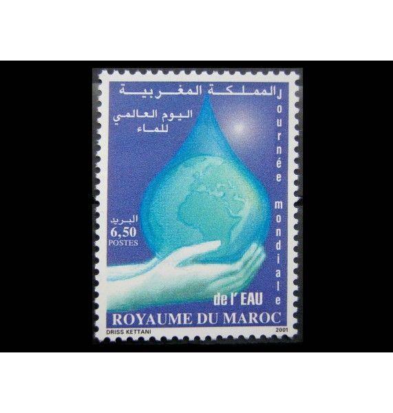 """Марокко 2001 г. """"Международный день воды"""""""