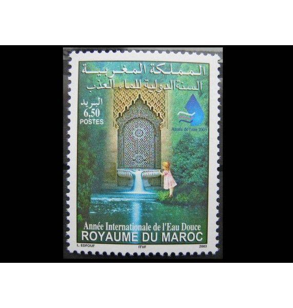 """Марокко 2003 г. """"Международный год пресной воды"""""""