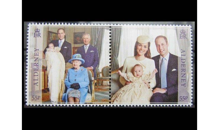 """Олдерни 2014 г. """"Первый день рождения принца Джорджа"""""""