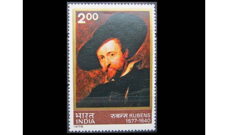 """Индия 1978 г. """"400-летие со дня рождения Питера Пауля Рубенса"""""""