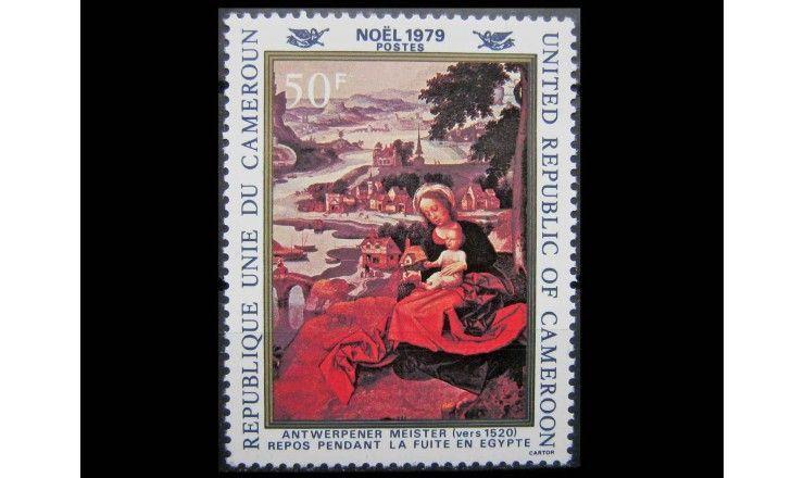 """Камерун 1979 г. """"Рождество: Картины"""""""