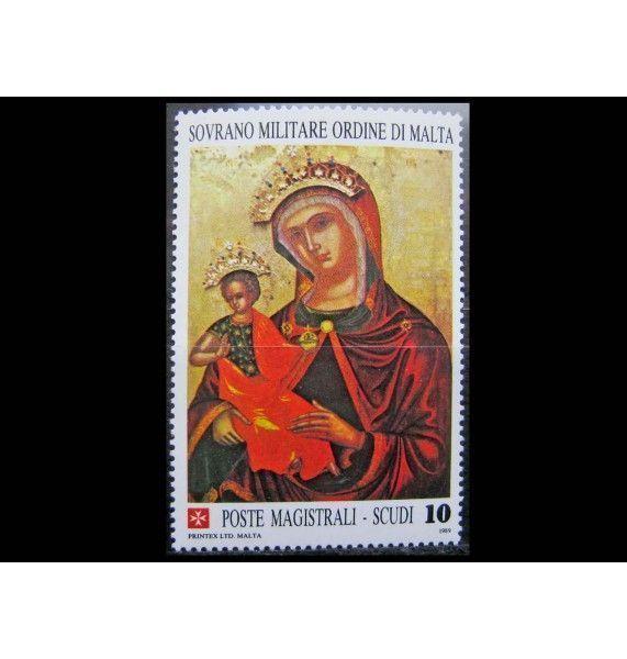"""Мальтийский орден 1989 г. """"Рождество"""""""