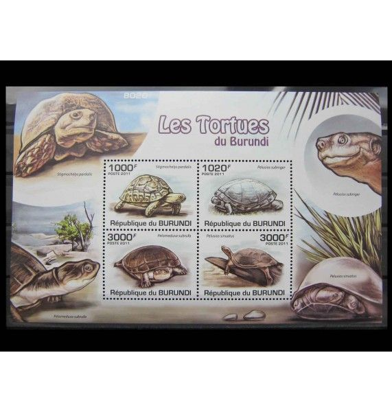 "Бурунди 2011 г. ""Черепахи"""