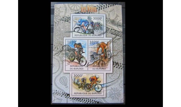 """Бурунди 2012 г. """"Велоспорт"""""""